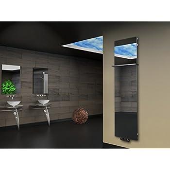 Design Heizkörper Indivi New 50/160 mit Spiegel (graphit - Spiegel ...