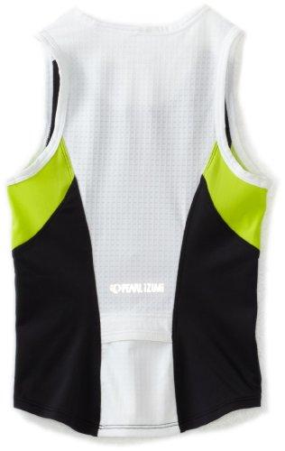 Pearl Izumi JR Tri Kinder Triathlon Fahrrad Body Shirt kurz schwarz/lime grün 2014: Größe: XXL (172) - 2