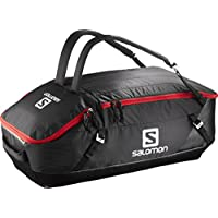 Salomon Prolog Bolsa de Viaje, Unisex, Negro (Black/Bright Red), 70 l