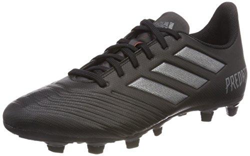 adidas Herren Predator 18.4 Fxg Fußballschuhe, Schwarz (Core Black/Utility Black F16/Real Coral S18), 44 2/3 EU (Schuhe Adidas Herren Rasen Fußball)