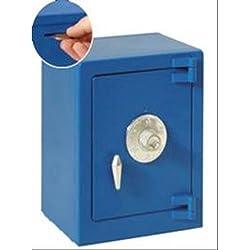 Hucha Caja Fuerte Azul