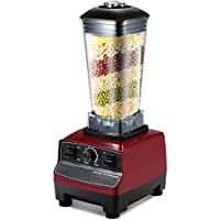 Decdeal 2200W Professional Nutrition Mixer Blender ,for Smoothies/Vegetables /Fruit /Five Cereals / Ice Crusher/ Juicer with 2L Jug