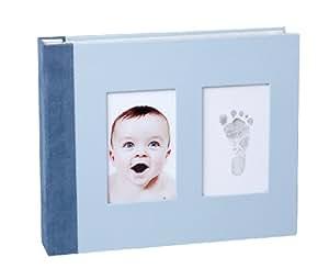 Baby Memory Prints Memory Book (Blue)