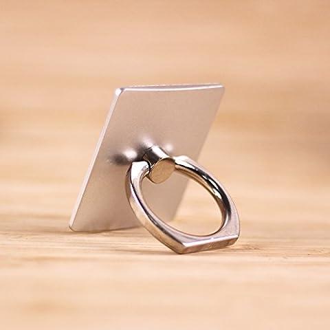 anillo Universal Smartphone El teléfono móvil admite un bucle cuadrado Color sólido Soporte Universal Kit E