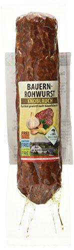 Greisinger Bauernrohwurst Knoblauch egal. vac., 275 g