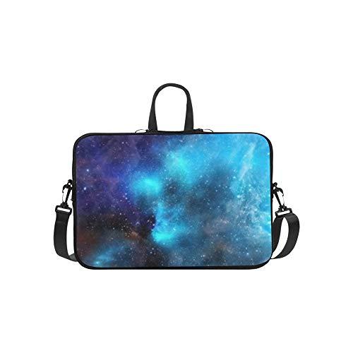(Weltraum Szene Planeten Sterne Galaxies Panorama Aktentasche Laptoptasche Messenger Schulter Arbeitstasche Crossbody Handtasche Für Geschäftsreisen)