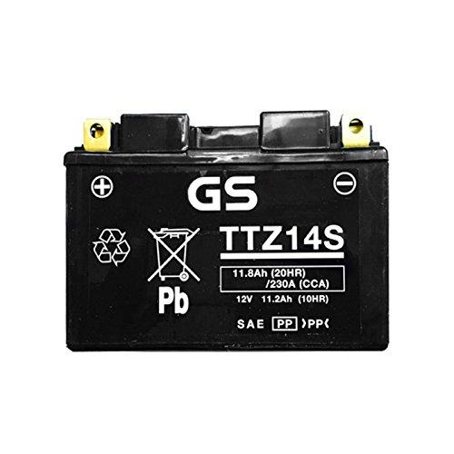 Batteria sigillata GS TTZ14S Yuasa YTZ14S 12 V 11 Ah 230 CCA acido incluso