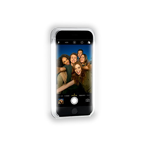 Custodia LuMee con LED per Apple iPhone 6 Raum Schwarz