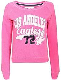 PILOT® lola L.A. haut sweat-shirt imprimé en rose
