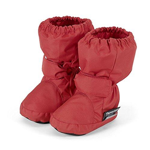 Sterntaler - Schuh, Scarpine e pantofole primi passi Bimba 0-24 Rosso (Rot (Rubin 796))