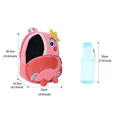 Mochila Infantil Guarderia Animales Linda Bolso Bebe Escuela Dibujos Animados para niña y niño 1-3 años