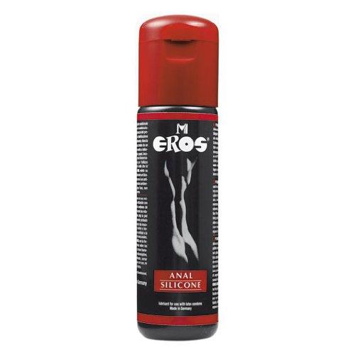 Eros Anal Silicone Gleitgel Gleitmittel für den analen Verkehr - 100 ml Made in Germany