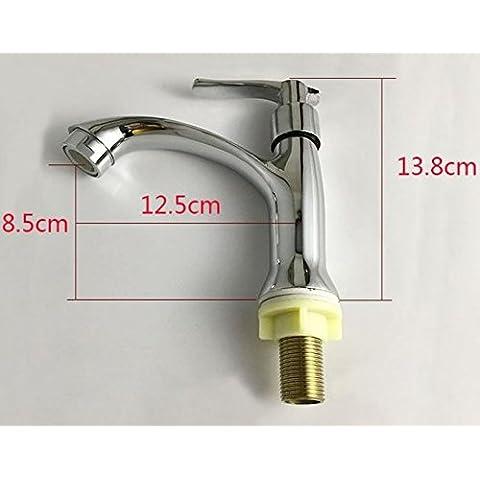 BFDGN semplice resistente e robusto rame spazzolato Il rame rubinetto