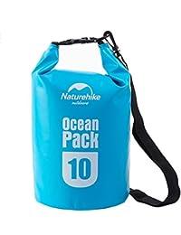 Gion's Portable Waterproof 10L PVC Trekking Drifting Seal Rafting Bag Ocean Pack Waterproof Bag Dry Bag