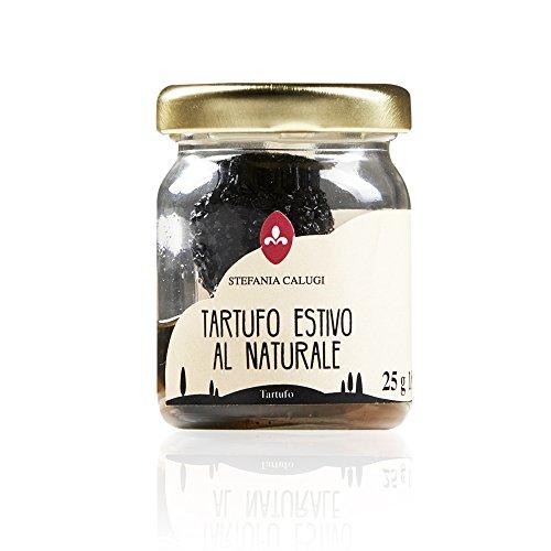 Schwarze Sommertrüffel – Ganzer frischer Trüffel im Glas (37g)