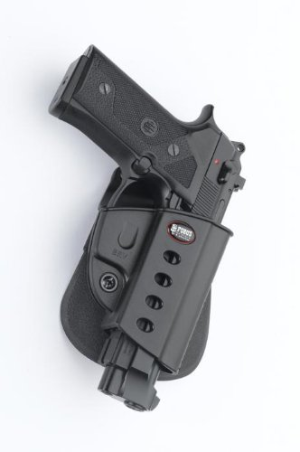Fobus Roto Evolution Series Paddle Holster - 1911 style with rails Kimber TLE, RL & Springfield by Fobus -