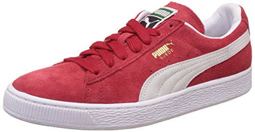 Puma Suede Classic 352634 Sneaker Uomo, Rosso (Team Regal Red/White 05), 44