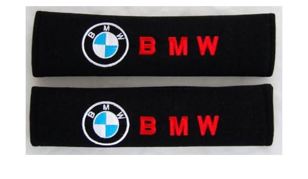 2Pcs Coussin Ceinture Securite de S/éCurit/é pour Volkswagen R-Line,Broderie Coussinets dEpaule avec Logo Voiture Car Int/éRieur Accessoires