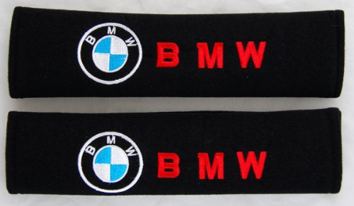 BMW Coche cinturón de Seguridad Cubre Hombreras Par