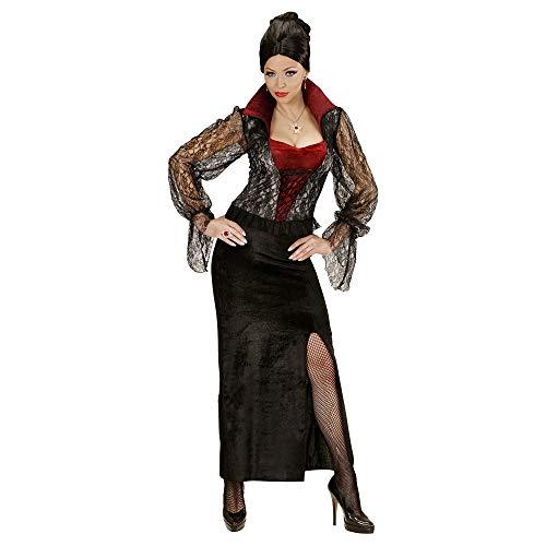 WIDMANN 04042 - Erwachsenenkostüm Vampir Lady, Kleid, Größe M, ()