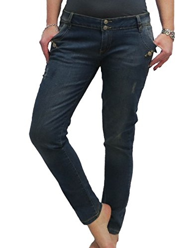 denim wear Damen JEANS LOOSE FIT Jeanshose Hose women normal rise, Größe:46 (Loose Shorts Jean Fit)