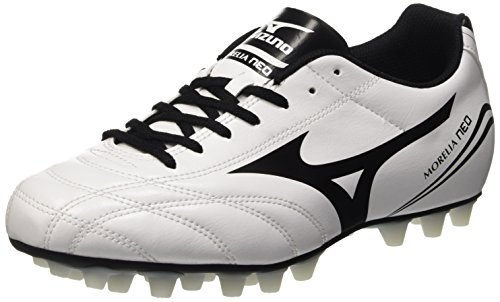 Mizuno Morelia Neo Cl 24, Scarpe da Calcio Competizione Uomo, Bianco (White/Black), 45 EU