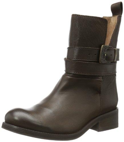 Diesel ROXY ROLL SASHAN Damen Stiefel Y00769 PR516, Echtleder, Braun (Dark Brown T2154), EU 36