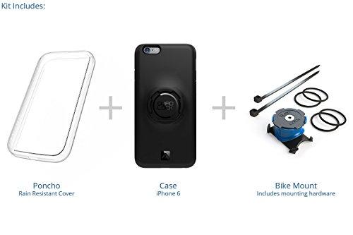Quad Lock QLK-BKE-IP6 - Kit para bicicleta para iPhone 6/6S, color negro 41.42€