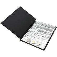6124a2092e Garosa Raccoglitore per Monete Album Portamonete per raccoglitori di  Piccole Dimensioni, 250 Tasche, 10
