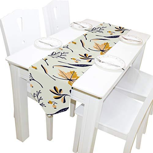 be Romantische Kommode Schal Tuch Abdeckung Tischläufer Tischdecke Tischset Küche Esszimmer Wohnzimmer Hause Hochzeitsbankett Decor Indoor 13x90 Zoll ()
