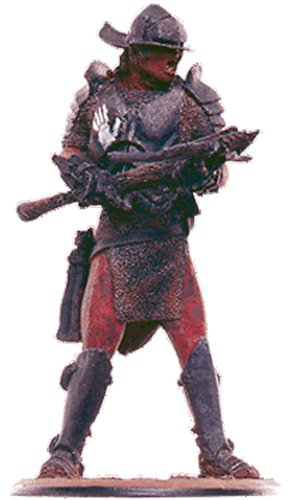 Lord of the Rings Señor de los Anillos Figurine Collection Nº 107 Uruk-Hai Invader 1