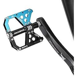 SMEI Aluminio Aleación Bicicleta Pedal Antideslizante Ultraligero Montaña Carretera Bicicleta Pedales Ciclismo Sellado Rodamiento Pedal Bicicleta Partes