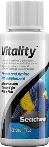 Seachem Vitality Integratore Alimentare per Pesci Marini - Pacco da 25 x 50 ml