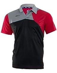 Siux Polo Zeus Negro Rojo