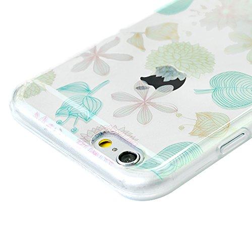 iPhone 6 Plus Hülle Case, iPhone 6S Plus 5,5 Zoll Schutzhülle YOKIRIN TPU Silikon Tasche Handyhülle Handytasche Schale Slim Fit Gemalt Etui Backcover Rückseite Protective Shell Muster:Diamant Farbe 10
