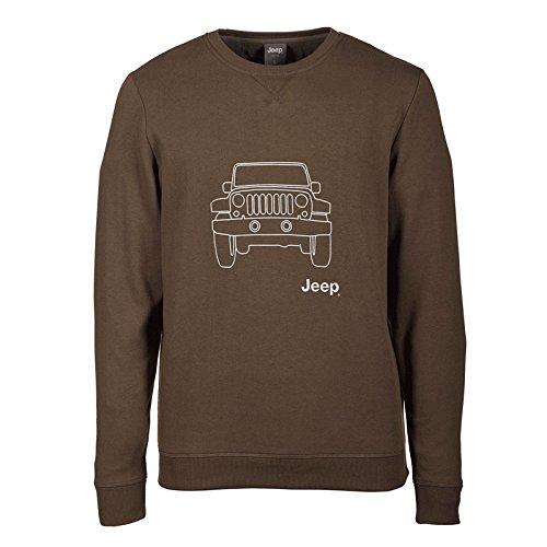 jeep-sudadera-de-tejido-cardado-con-cuello-redondo-vehicle-outline-j6w-para-hombre-military-light-gr