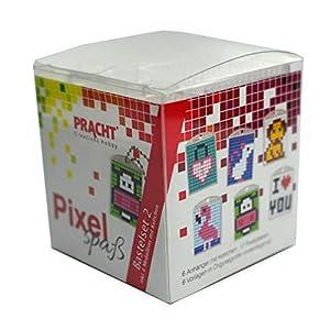 Pracht Creatives Hobby P90007-63501 - Juego de Manualidades para 6 medallones, Llavero, para niños, niños y niñas, Ideal como pequeño Regalo, para cumpleaños Infantiles