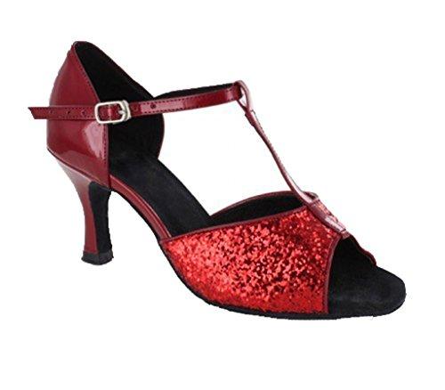 TDA , Jazz & Modern femme 7.5cm Red