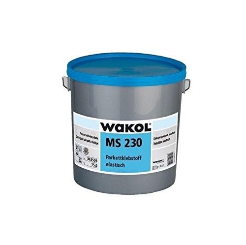 Wakol MS 230 Parkettklebstoff 18 kg, elastisch, Parkettkleber (4,61 pro Kilo)