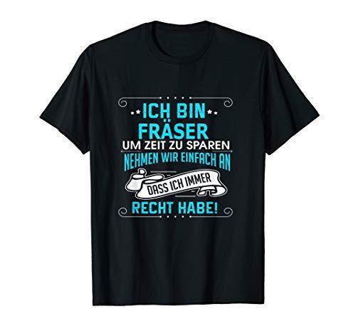 Herren Fräser T shirt -