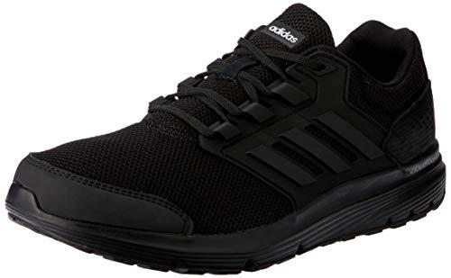adidas Galaxy 4 m, Zapatillas de Entrenamiento para Hombre, Negro Core Black 0, 44 EU
