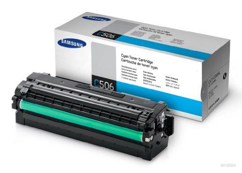 Preisvergleich Produktbild Samsung CLT-C506L/ELS Original Toner (Hohe Reichweite, Kompatibel mit: CLP-680ND/680DW/CLX-6260 Series) cyan