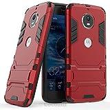 Cocomii Iron Man Armor Motorola Moto G5S Funda Nuevo [Robusto] Superior Táctico Sujeción Soporte Antichoque Caja [Militar Defensor] Cuerpo Completo Doble Capa Sólido Case Carcasa for Moto G5S (I.Red)