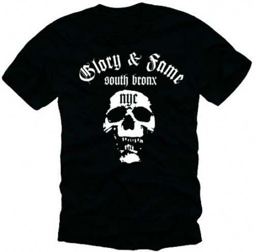 coole-fun-t-shirts-south-bronx-nyc-skull-deadhead-t-shirt-black-white-schwarz-weiss-sizexxl