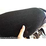 BIGZOOM No Heat Net Seat Cover for -Bajaj Pulsar 150 DTS-i (Black)
