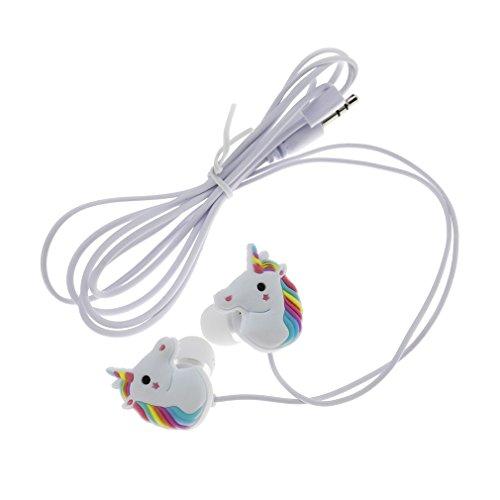 Süsse Einhörner 3,5mm Silikon PVC Pferd in-Ear Kopfhörer - Cd-player Cute