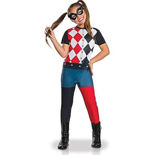 Generique Disfraz clásico Harley Quinn niña 7-8 años (122/128)
