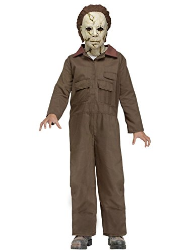 (Michael Myers - Rob Zombie's HALLOWEEN Kid Large Costume (12-14))