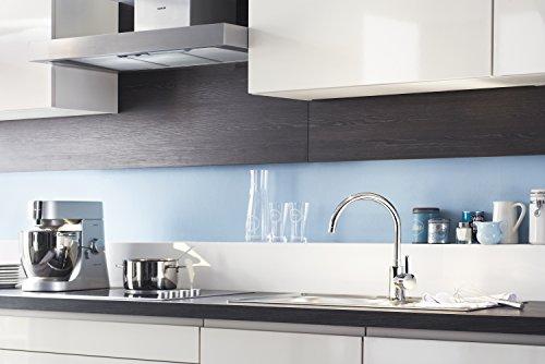 Grohe Eurosmart Cosmopolitan Küchenarmatur (hoher Auslauf, Schwenkbereich wählbar, Niederdruck) 31180000 -
