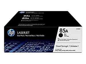HP - Hewlett Packard LaserJet Pro P 1102 w (85A / CE 285 AD) - original - 2 x Toner black - 1.600 Pages